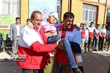 برگزاری مانور زلزله و ایمنی در مدارس استان کهگیلویه و بویراحمد |