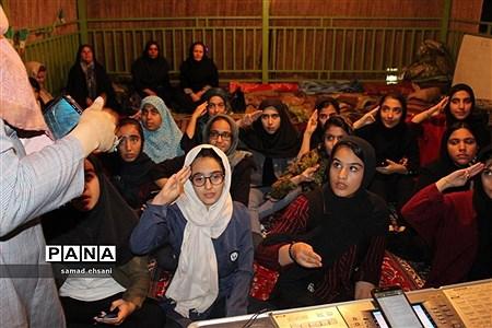 پیش اردوی ملی دختران پیشتاز سازمان دانشآموزی کهگیلویه و بویراحمد. |