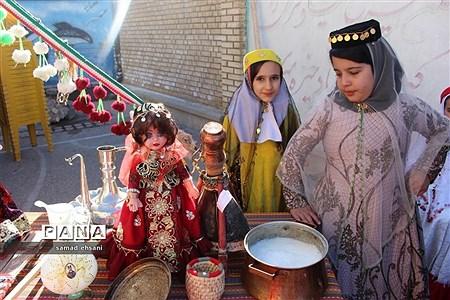 جشنواره فرهنگی بومی دبستان هیات امنایی شمس نجف آباد یاسوج. |