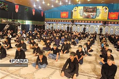 هفتمین آیین سوگواری دانشآموزی «احلی من العسل» در یاسوج |