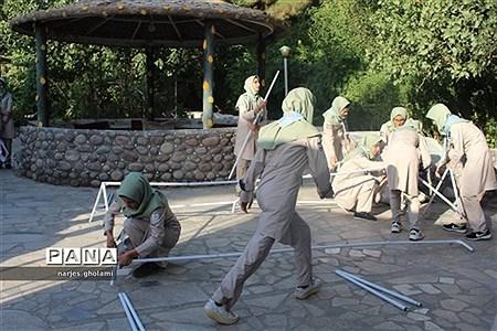آیین اختتامیه پیش اردوی پیشتازان سیستان و بلوچستان  