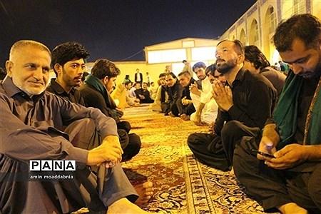 زائران حسینی پاکستانی در موکب زائر سرای امام رضا (ع) زاهدان |