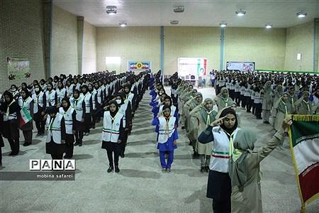مانور تشکیلاتی یاوران انقلاب شهرستان زهک  