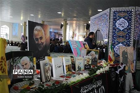 مراسم یادبود سپهبد شهید حاج قاسم سلیمانی در مصلی قدس زاهدان |
