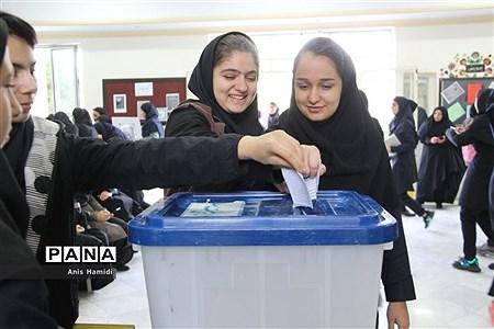 بیست ودومین دوره انتخابات شورای دانشآموزی در خراسان شمالی  