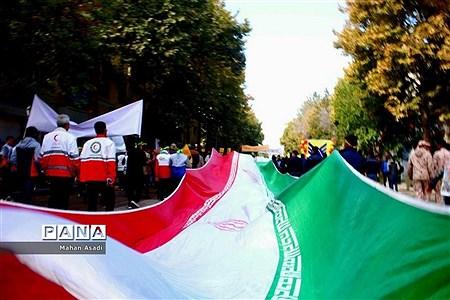 راهپیمایی یوم الله 13 آبان در خراسان شمالی  