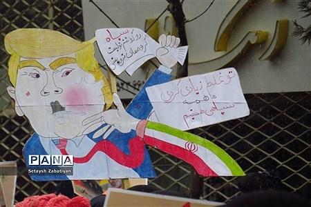 راهپیمایی یوم الله 22 بهمن ماه درخراسان شمالی  