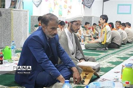 مراسم افطاری بهمناسبت سالروز تاسیس سازمان دانشآموزی  