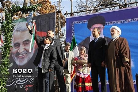 نواخته شدن زنگ انقلاب در خراسان شمالی  