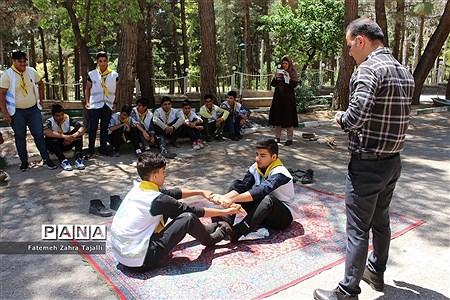 اردوی دانشآموزان پسر پیشتاز شهرستان شاهرود |