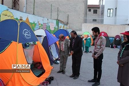 برگزاری آیین ملی میهمان و میزبان در مدرسه فاطمیه شهرستان سمنان |