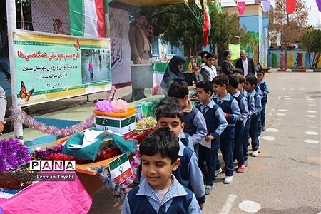 طرح سیل مهربانی همکلاسیها در مدارس استان سمنان |