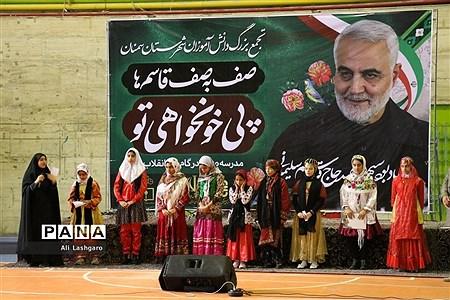 مانور یاوران انقلاب در شهرستان سمنان |