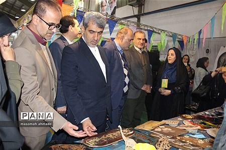 آیین افتتاحیه سومین جشنواره دستاوردهای دانشآموزان کانونهای فرهنگی و تربیتی استان البرز |