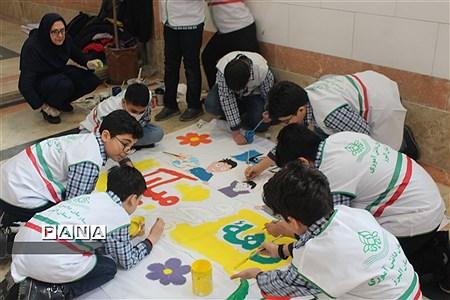 برگزاری همایش یاوران انقلاب سازمان دانش آموزی در استان البرز |