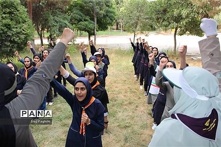 پیش اردوی ملی دانشآموزان دختر تشکل پیشتازان البرز |