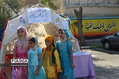 مراسم متمرکز استانی پویش عاطفهها در مدرسه دخترانه اکبریه حصارک کرج |