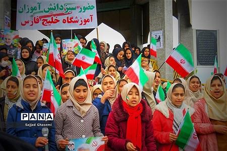 راهپیمایی 22 بهمن سلیمانی در شهرستان های استان گلستان  