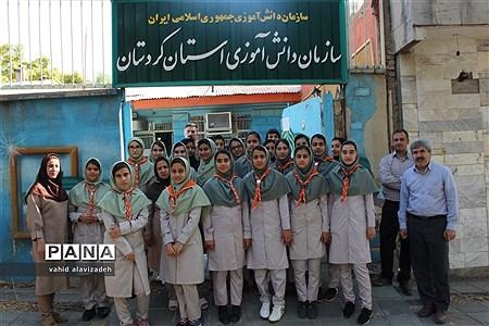 اعزام پیشتازان دختر استان کردستان به نهمین دوره اردوی ملی |