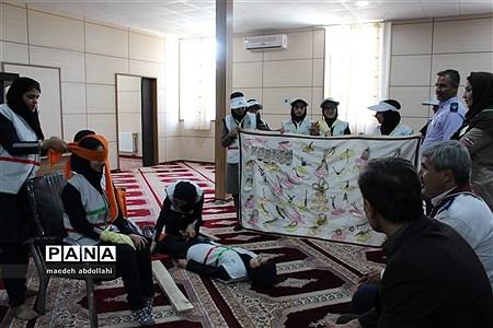 حضور مدیرکل آموزش و پرورش کردستان در پیش اردو ملی |