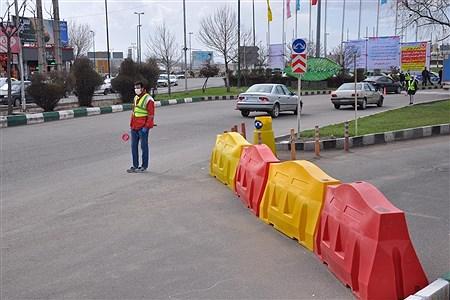 کنترل عبور و مرور ورودیهای شهرزنجان | Arian Bahmani