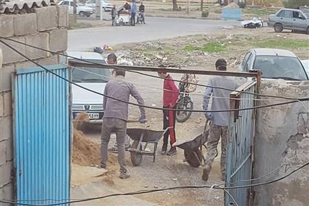 فعالیت های گروه جهادی جهادگران انقلابی شهرستان امیدیه  