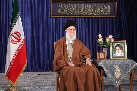 سخنرانی تلویزیونی  رهبر انقلاب اسلامی به مناسبت ولادت حضرت امام زمان(عج) | leader.ir