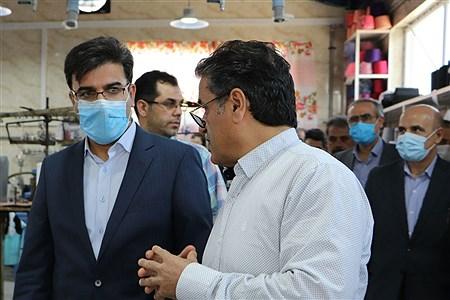 بازدید معاون هماهنگی امور اقتصادی استانداری تهران از شهرک صنعتی قرچک | Mohammad Reza Ardestani