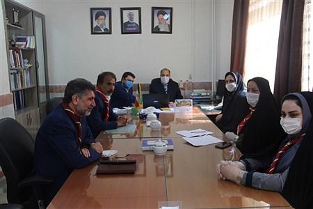 حضور  همکاران سازمان دانش آموزی  خراسان شمالی در جلسه ویدئو کنفراس قائم مقام سازمان دانش آموزی | Soraya Farnoodian
