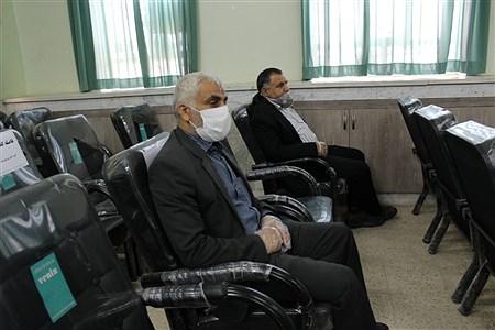تقدیر ازمدیران ومعلمان نمونه شهرستان حمیدیه باحفظ رعایت  فاصله اجتماعی | SalimehTorgi