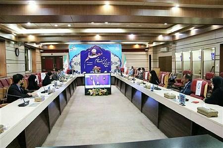 ویدئو کنفرانس رئیس جمهور و وزیر آموزش و پرورش با معلمان نمونه قزوین   mohsen hoseinkhani