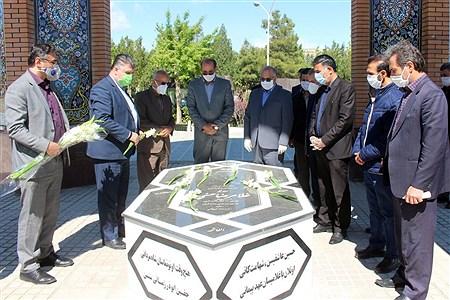 تجدید میثاق فرهنگیان آذربایجان غربی با آرمانهای شهداء | Behzad Golestani