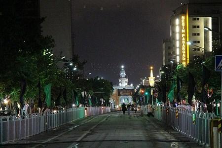 چند مراسم احیا برگزار شده در کنار حرم مطهر رضوی و  مساجد  | Saleh Sarkhosh