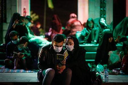 احیای شب بیست و یکم ماه رمضان در مقبره الشهدای چیتگر   Ali Sharifzade