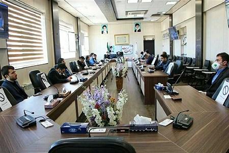 نشست روابط عمومی مناطق 14گانه آموزش و پرورش قزوین   mohsen hoseinkhani