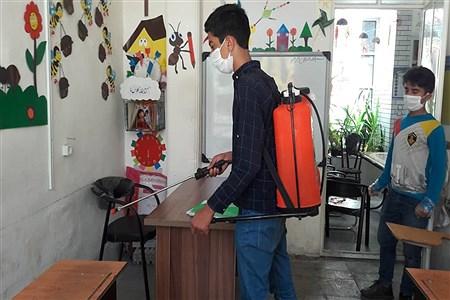 تمامی مدارس و مراکز آموزشی وابسته به آموزش وپرورش فسا قبل از بازگشایی گند زدایی شدند | Receive