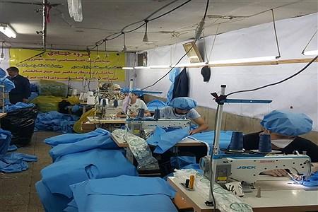 فعالیت های قرارگاه جهادی شهید تقوی سپاه ناحیه ری در ایام مبارزه با کرونا ویروس | Nourieh Ahmadi
