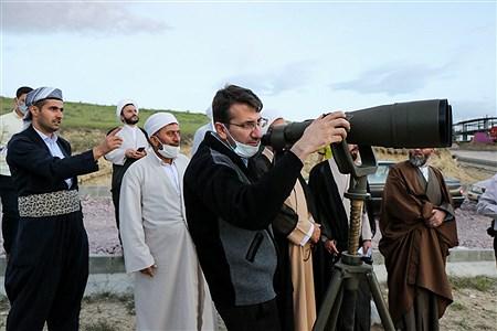 استهلال ماه شوال در ارومیه | Amir Hosein Mollazade