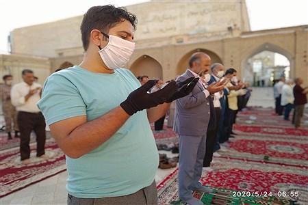 جمعیت متناسب و با رعایت نکات بهداشتی | MojtabaSahebzamani