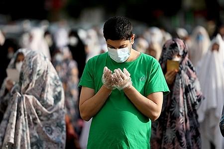 اقامه نماز عید سعید فطر در مسجدالرسول میدان رسالت   Bahman Sadeghi