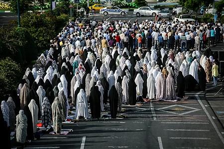 اقامه نماز عیدسعید فطر در تهران | Ali Sharifzade
