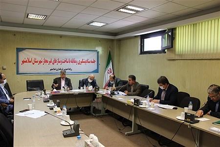 جلسه ستاد پیشگیری و مقابله با ساخت و سازهای غیرمجاز شهرستان اسلامشهر | Sasan Haghshenas