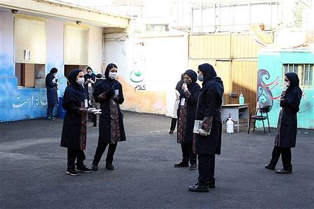 برگزاری امتحانات میان پایه در مدرسه متوسطه اول مکتب الزهرا | Reyhaneh Omranzadeh
