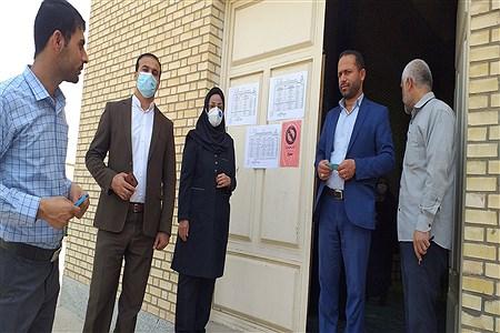 بازدیدازحوزه های امتحانی جهت آماده سازی وبرگزاری امتحانات نهایی دوازدهم درشهرستان حمیدیه | Salimeh Torfi