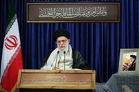 سخنرانی تلویزیونی رهبر انقلاب اسلامی به مناسبت سی و یکمین سالگرد رحلت امام خمینی (رحمهالله) | khamenei.ir