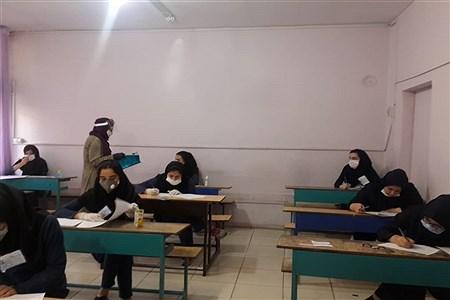 برگزاری  امتحانات پایه دوازدهم با رعایت پروتکل های بهداشتی در اسلامشهر | Fatemeh Gadamzadeh