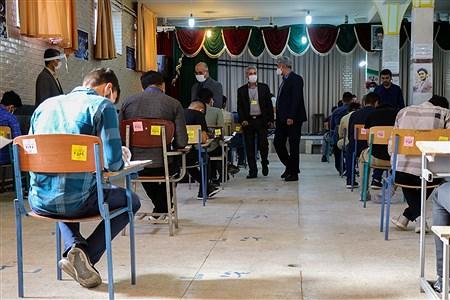 بازدید مدیرکل آموزش و پرورش آذربایجان غربى از نحوه برگزارى امتحانات نهایى | Amir Hosein Mollazade