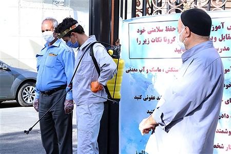 برگزاری امتحانات نهایی در دبیرستان ماندگار البرز | Zahra Alihashemi