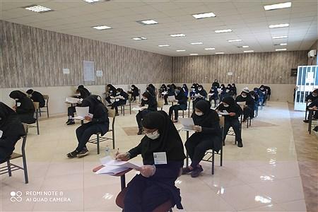 بازدید  مدیریت آموزش و پرورش از حوزه های امتحانات نهایی دوازدهم شهرستان امیدیه | EIiahe  Yousefi  Makvandi