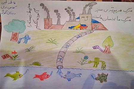 مسابقه نقاشی با محوریت محیط زیست شهرستان امیدیه |